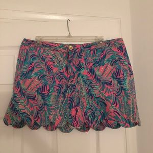 Lilly Pulitzer Colette Skort Coco breeze